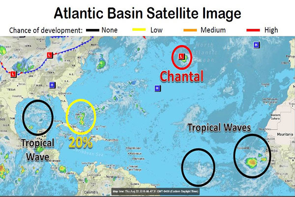 Atlantic Basin Satellite Image