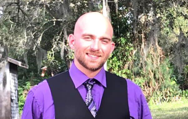 Corey Weber of Sebastian, Florida.