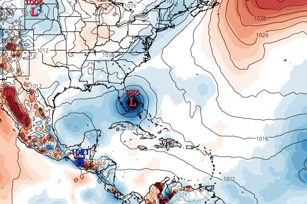EURO hurricane model