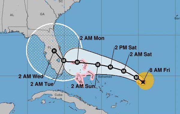 Hurricane Dorian live cams stream the storm from Florida