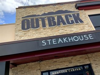 Outback Steakhouse in Vero Beach, Florida.