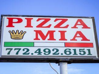 Pizza Mia in Vero Beach, Florida.