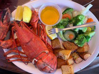 Maine Lobster at Portside Pub & Grille in Sebastian, Florida.