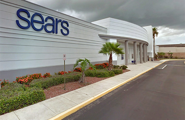 Sears at the Indian River Mall in Vero Beach, Florida.