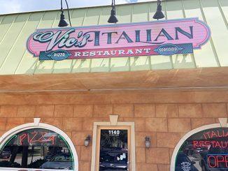 Vic's Pizza Italian Restaurant in Sebastian, Florida.