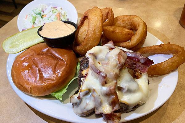 Burger a' la