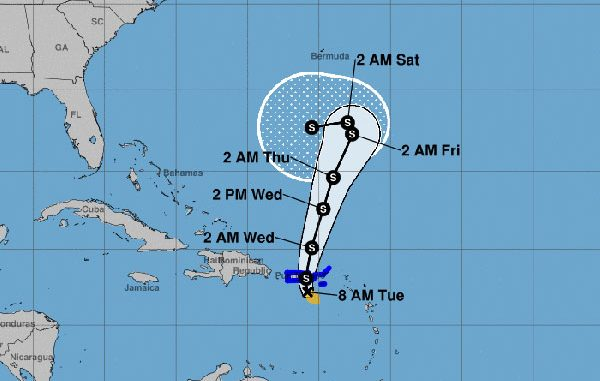 Tropical Storm Karen