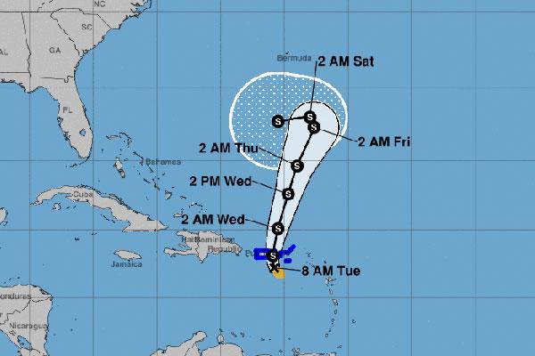 Tropical Storm Karen
