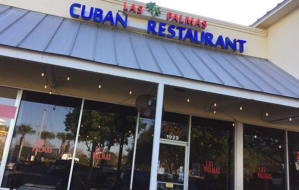 Las Palmas Restaurant in Sebastian, Florida.