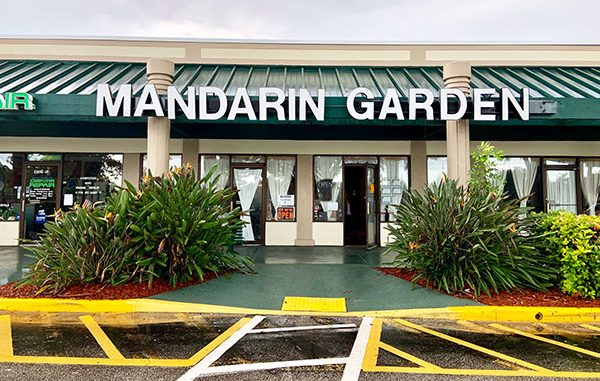 Mandarin Garden was shut down twice during the past month in Sebastian, Florida.