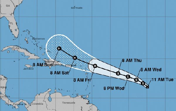 Tropical Depression 10