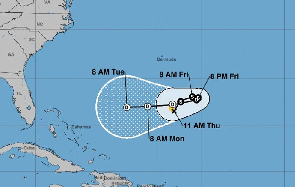 Tropical Storm Karen to dissipate in four days