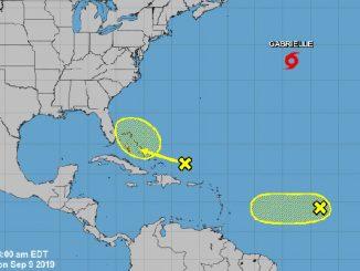 Tropics to bring rain later this week to Sebastian, Florida.