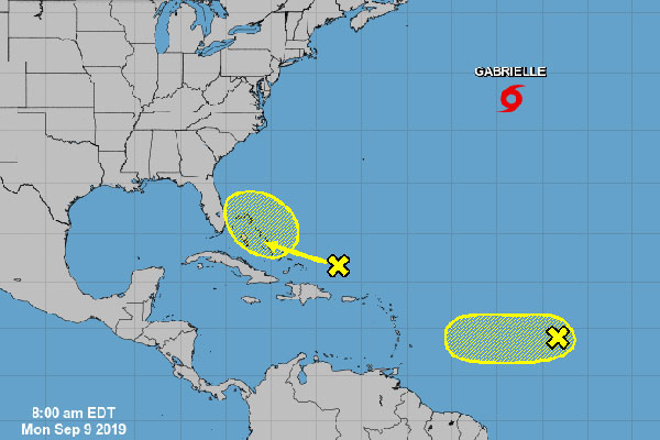 Tropics to bring rain later this week to Sebastian, Florida.