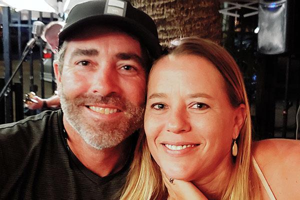 Samantha Burns and Joshua Schaffner of Sebastian, Florida.
