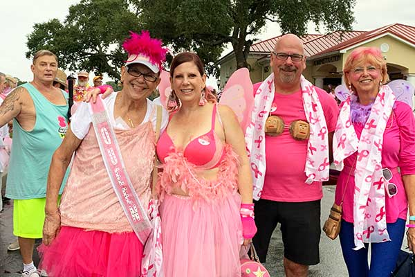 Sea of Walk for Breast Cancer