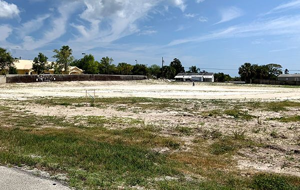 Law enforcement says no crime ever occurred with removal of sand at cemetery in Sebastian, Florida.
