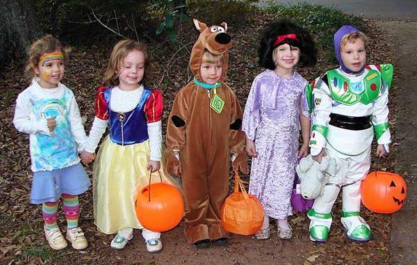 Halloween Trunk or Treats for kids in Sebastian, Florida.
