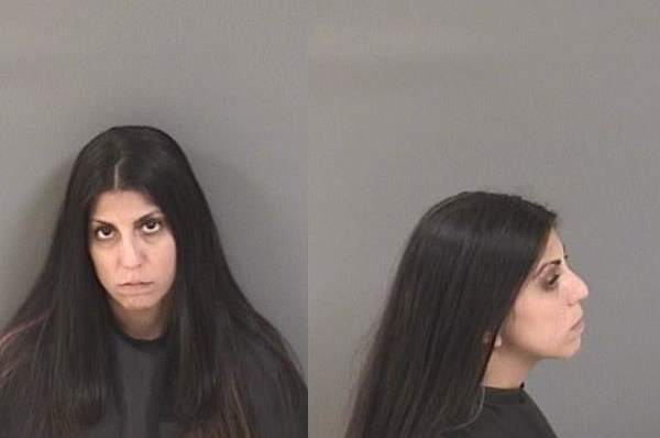 Valerie Esposito arrested in Vero Beach, Florida.