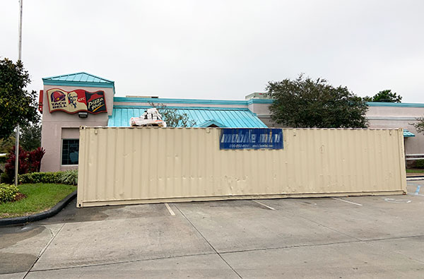 KFC and Taco Bell are currently going through renovations in Sebastian, Florida.