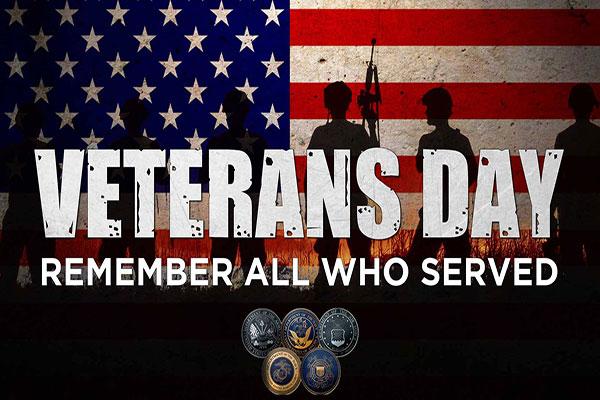 Veterans Day in Sebastian, Florida.