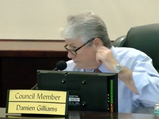 Sebastian city councilman Damien Gilliams is late paying more than $32,000 for property and business taxes.