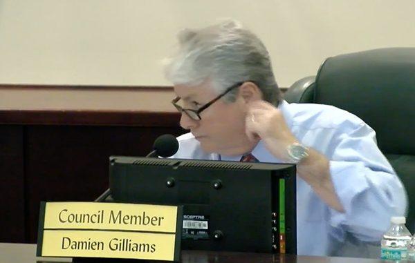 Sebastian city councilman Damien Gilliams