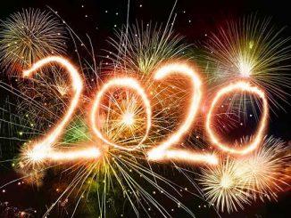 New Year's Eve celebrations in Sebastian, Florida.