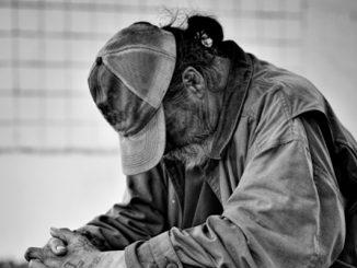 Homeless in Sebastian, Florida.