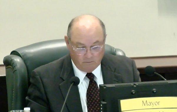 Mayor Ed Dodd