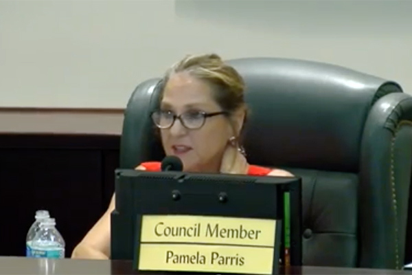 Sebastian City Councilwoman Pamela Parris.