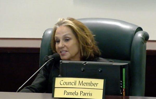 Sebastian City Councilwoman Pam Parris