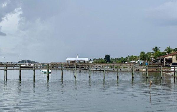 Rain in the forecast this weekend in Sebastian, Florida.