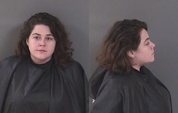 Sarah Beach was arrested in Sebastian, Florida.
