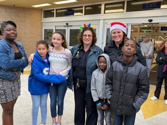 Shop with a Cop at Sebastian Walmart with Chief Michelle Morris. (All photos by Tinamarie Ioffredo)