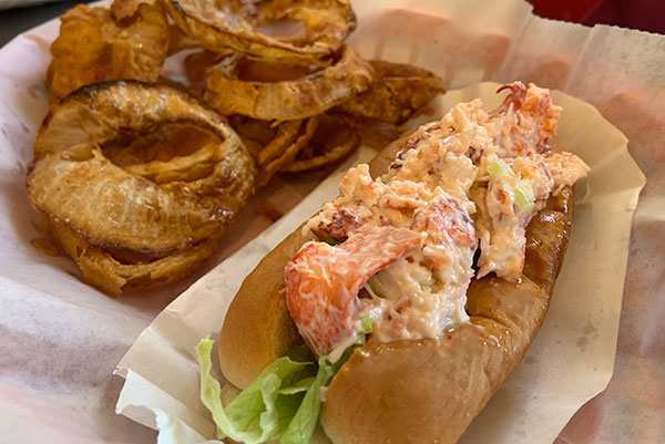Lobster Roll at Downtown Crossing in Sebastian, Florida.