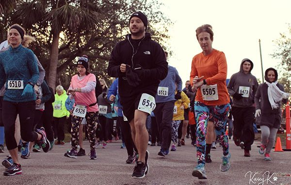 HALO's 3rd Annual Chase Your Tail 5k in Sebastian, Florida.