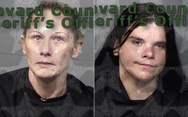 Jennifer Michelle Crowley and Brittany Rose Marie Parsley of Barefeoot Bay, Florida.