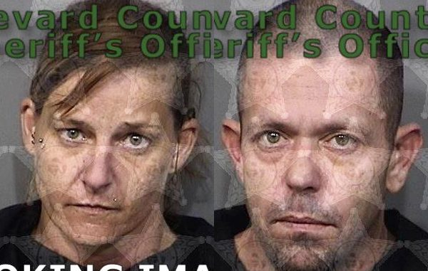 Jairious Elaina Culbertson and Jeremy Maddocks were arrested in Grant, Florida.