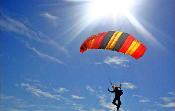 Skydiver dies in Sebastian, Florida.