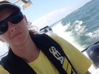 Amy Donaldson of Sea Tow Sebastian.