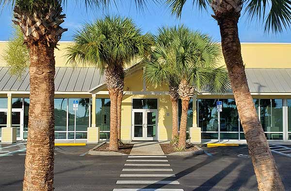 Indian River County tax collector's office in Sebastian, Florida.