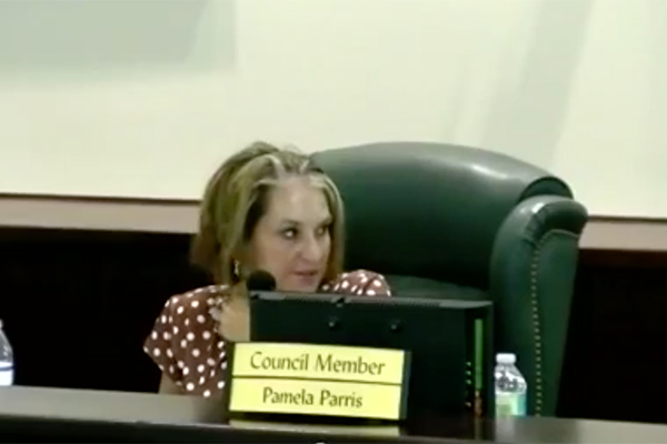Councilwoman Pamela Parris