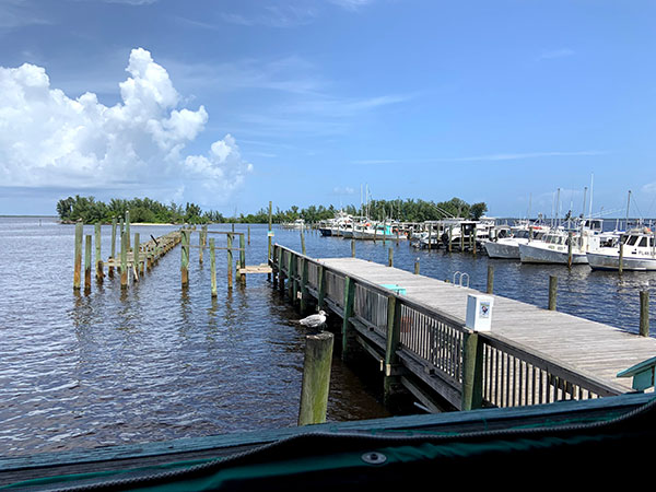Squid Lips offers a great view and dining experience.
