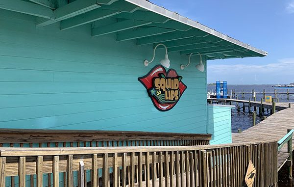 Squid Lips in Sebastian, Florida.