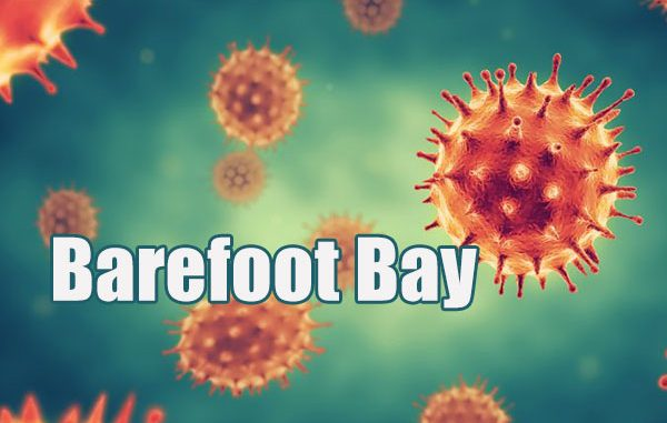 Coronavirus case in Barefoot Bay, Florida.