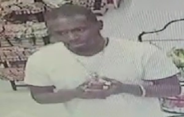 Credit Card Fraud suspect in Fellsmere, Florida.