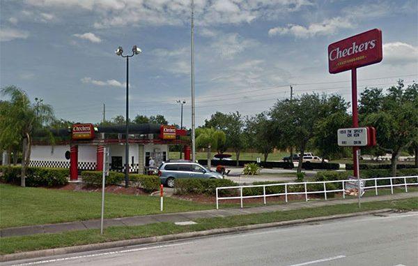 Checkers in Sebastian, Florida.