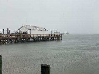 Flood watch in Sebastian, Florida.