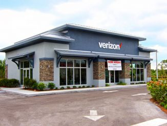 Verizon store opens in Sebastian, Florida.